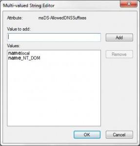 Multi Value String Editor