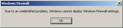 Windows XP Error