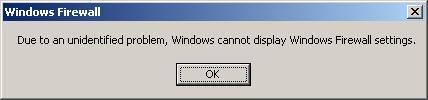Windows XP Error